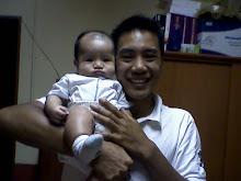 Adi & ayah! Adi was 3 months old...