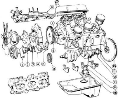 Ford 3 0 Liter Engine Diagram on ford mustang wiring diagram