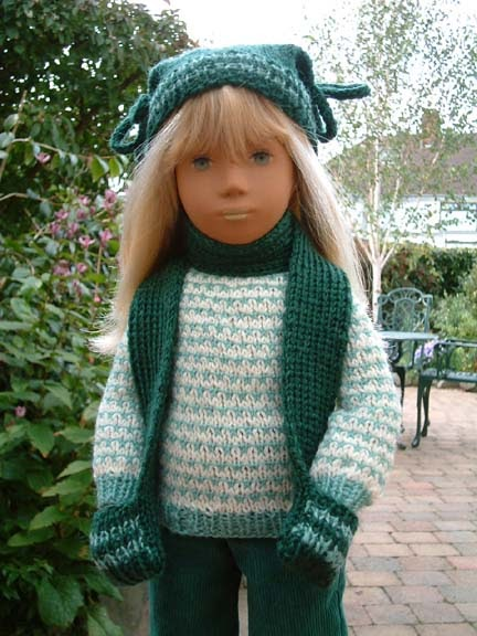 Sasha Doll Style: Sasha Doll Pattern - Hat and Mitten ...