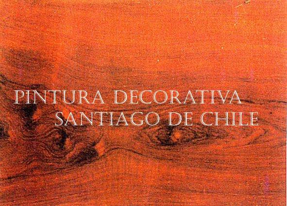 PINTURA DECORATIVA SANTIAGO DE CHILE