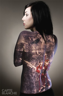 yakuza tattoo art sexy japanese tattoo for girls
