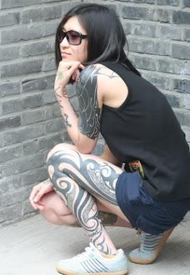 Women Tribal Tattoo Ideas