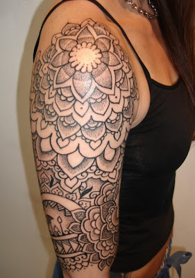 Picture of Tattoos For Girls Half Sleeve