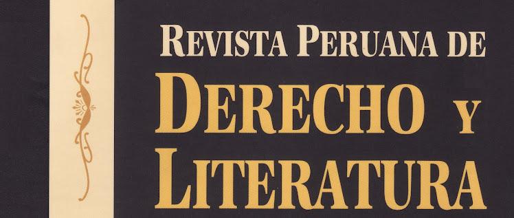 Revista peruana de Derecho y Literatura