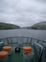 View of Tarbet harbour from the ferry