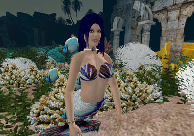 Wilhelmina in Second Life: Mermaid