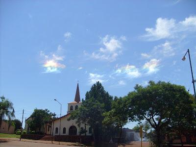 nubes con colores