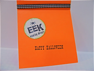 Halloween card inside