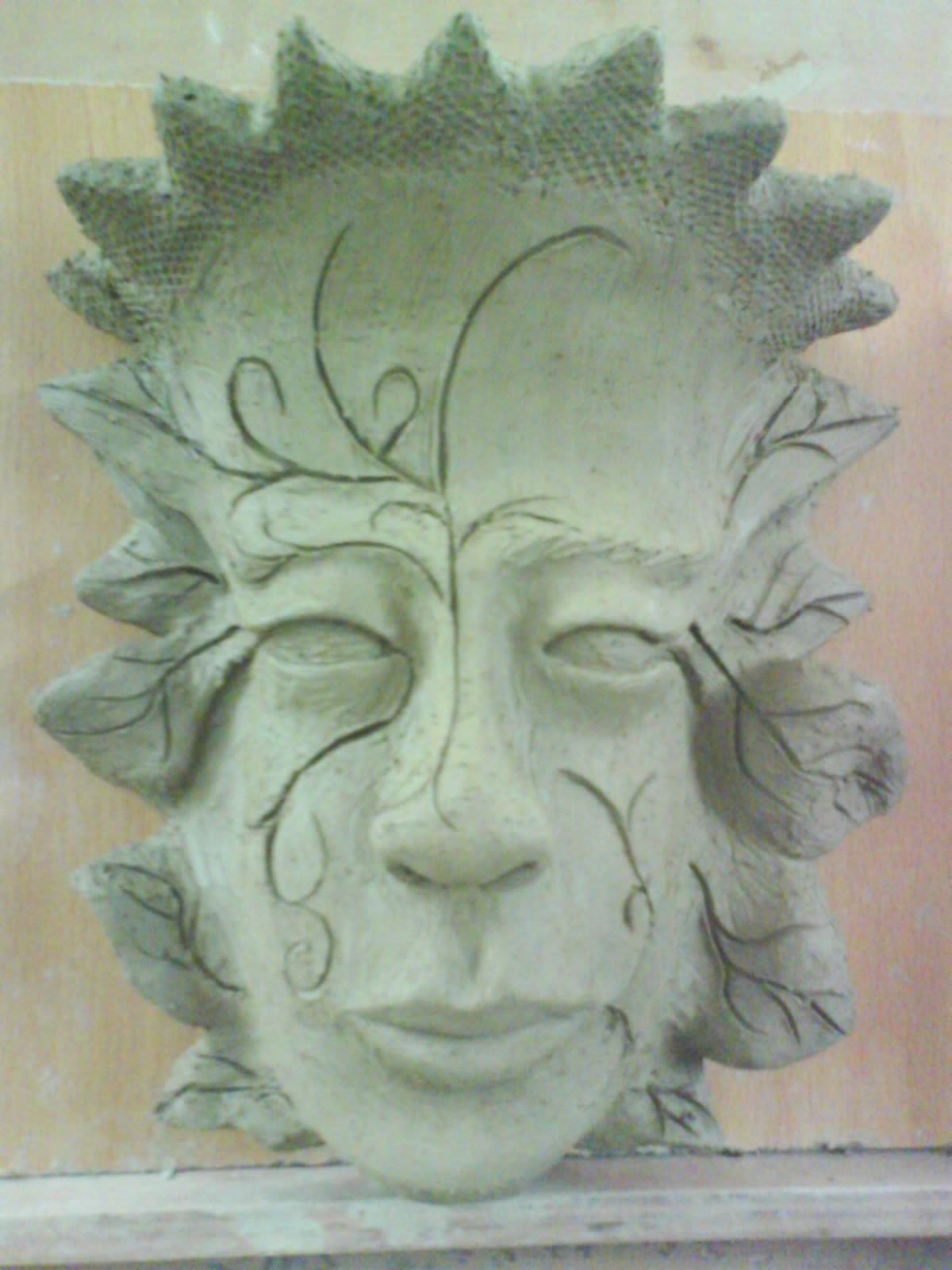 La máscara a la persona a la flaccidez de la piel