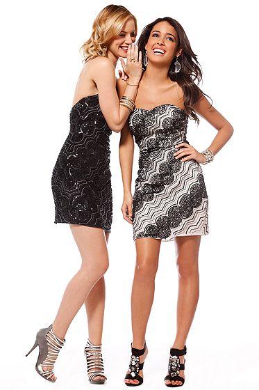 Vestidos de noche cortos julio