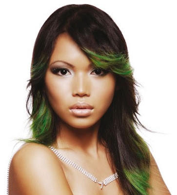 dyed hairstyles. popular hairstyles for