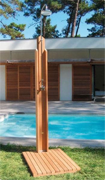 Novedosas duchas para el jard n o exterior decorando mejor - Duchas para jardin ...