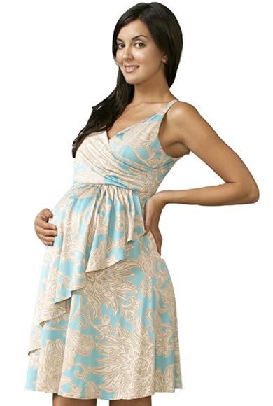 Modelos de vestidos para mujeres embarazadas