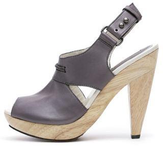 Tendencia zapatos con tacones de madera zapatos de moda - Tocones de madera ...