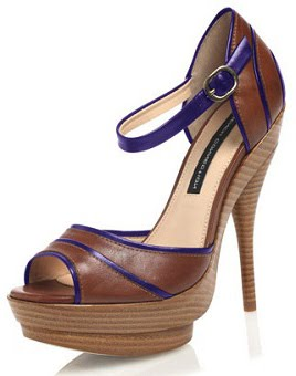 Tendencia moda safari sandalias con tacones de madera - Tocones de madera ...