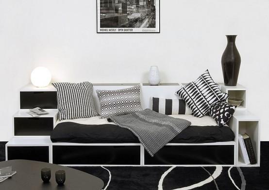 Dise o de interiores en blanco y negro luxury interior for Disenos de interiores en blanco y negro