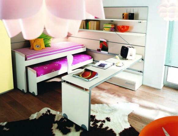 Modernos dise os de habitaciones para ni os y ni as for Cuartos de ninas modernos