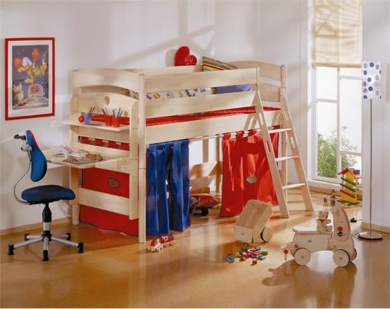 Interior design camas para ni os muy divertidas - Camas infantiles divertidas ...