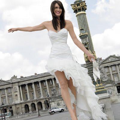 resymtug: vestidos de novia cortos