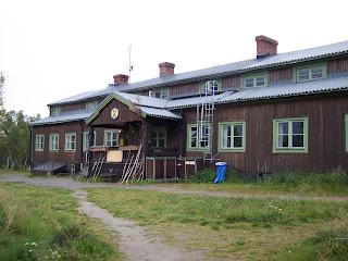 Saltoluokta fjällstation Kungsleden Tourist Station