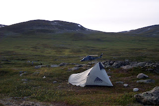 Camping at Alesjaurestugorna Kungsleden - Kings Trail - King of Trails