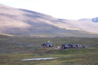 Salka Hut on the Kungsleden