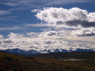The stark Moors of the Kungsleden