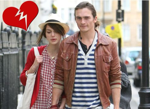 keira knightley rupert friend split. Keira Knightley and Rupert