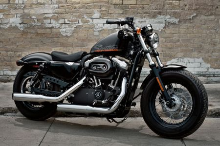 Motorcycle Mania: 2011 Harley-Davidson Sportster Forty-Eight