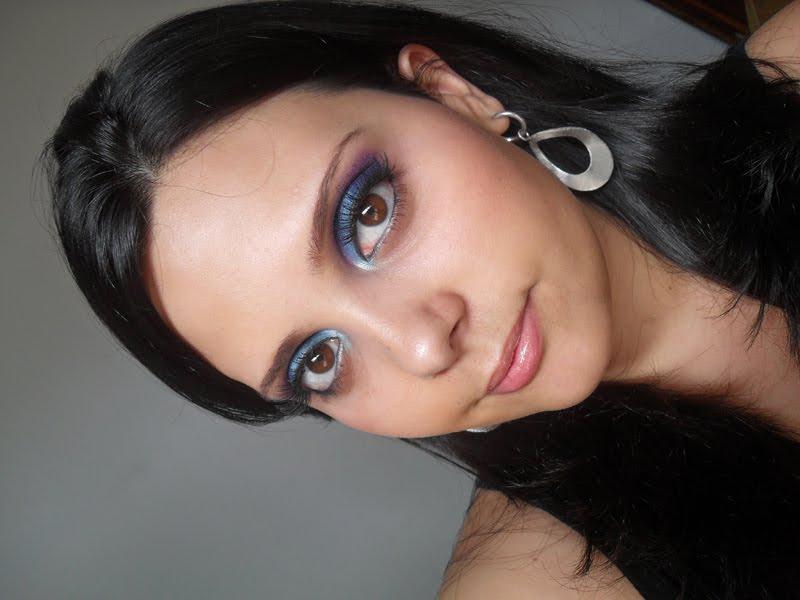 SDC10952 Que makeup usar com vestido preto?