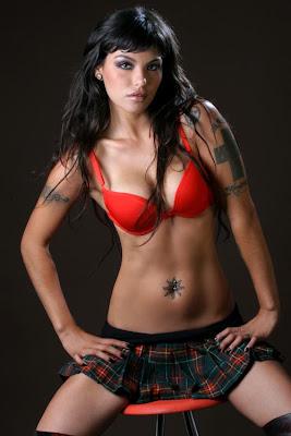 Fotos sexys Angie Gibaja