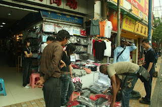 Guangzhou City Clothing market