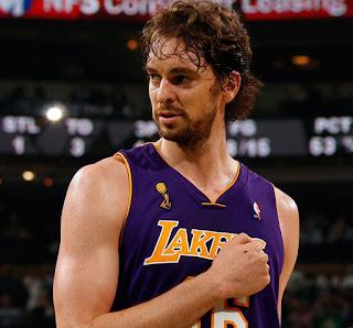 Early Saturday Morning- Lakers love Pau