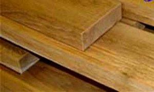 Oude teakhouten planken