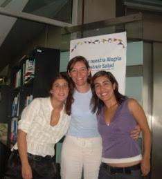 Malena Nisman, Coordinadora Nacional, Violeta y Mariana