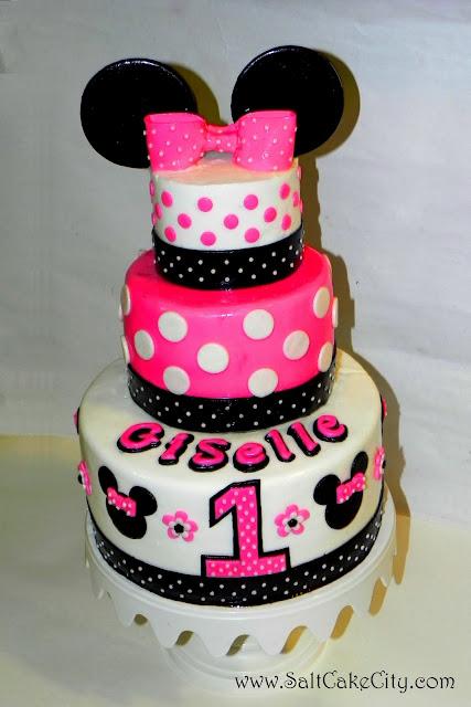 Galería de pasteles de Minnie Mouse para darte inspiración ...