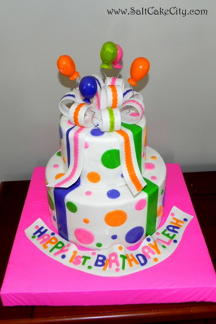 Cake Images With Balloons : Salt Cake City: Balloons on a cake!!