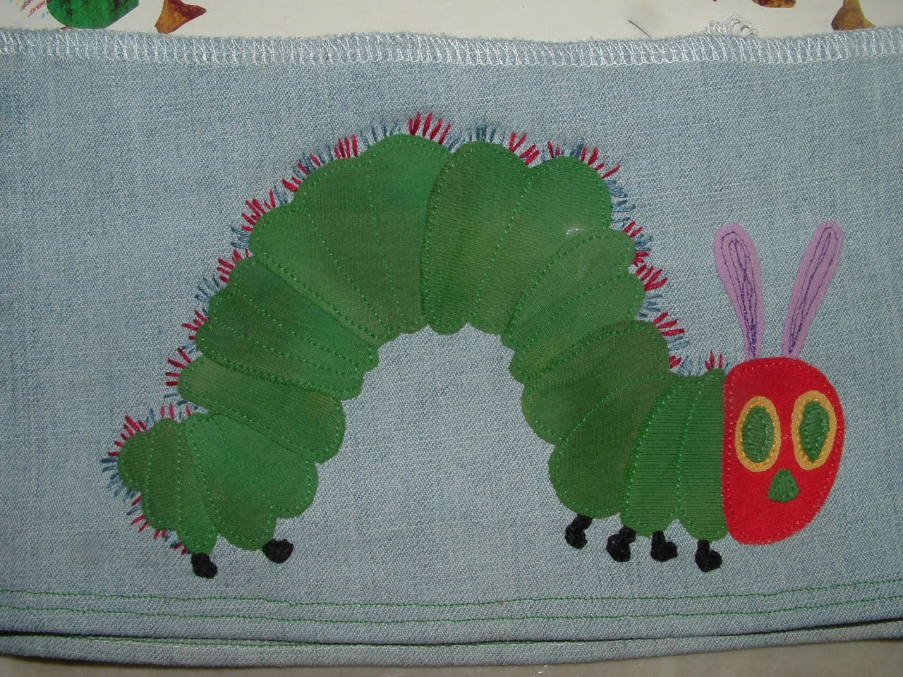 Pieces by Polly: Very Hungry Caterpillar Applique Tutorial with ...
