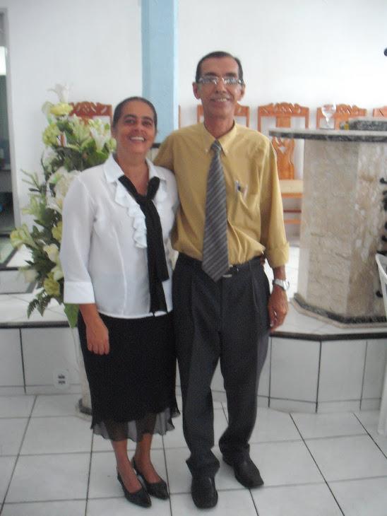 Pastor Elias Ribeiro e Missionária Adna