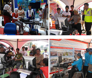 Safety Riding on Exhibition Event