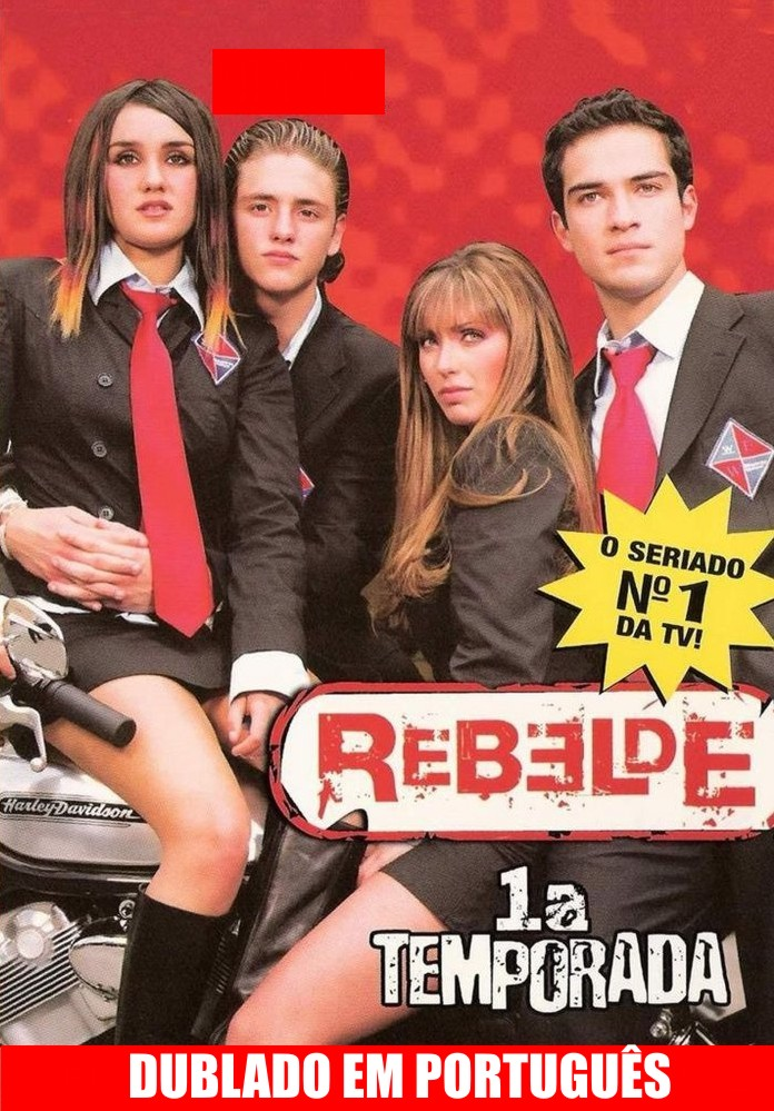 Novela: Rebelde 1,2,3º Temporada Completa  Download Filme