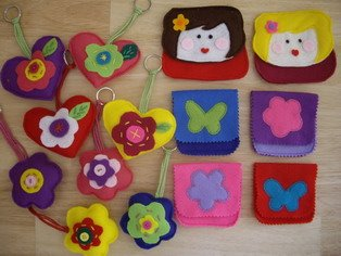 Key ring and pocket money(sold)
