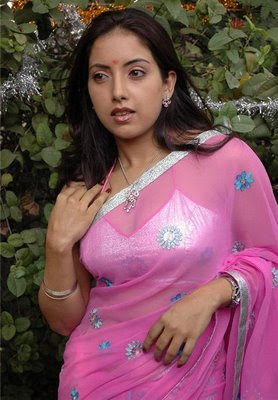 Tamil Actress Preethi navel show LatestGallery.com