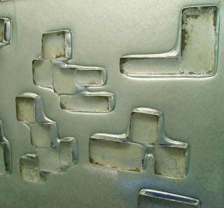 Cubos termoformados,en bajo relieve