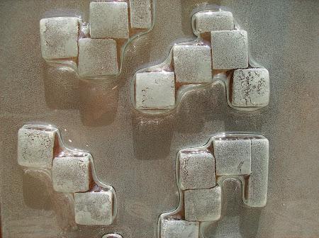 Cubos termoformados.