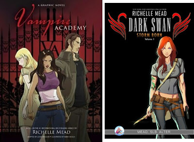 Richelle mead vampire academy graphic novel