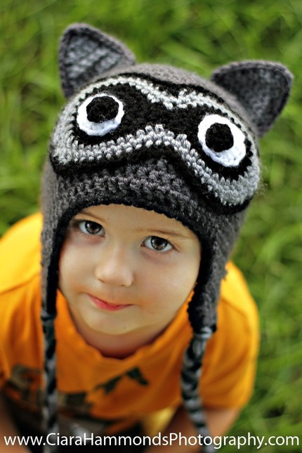 Crochet Pattern Raccoon Hat : Craftaholics Anonymous? Inner Hooker GIVEAWAY {closed}