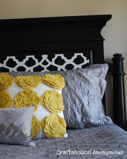 Craftaholics Anonymous A Diy Headboard Makeover On The
