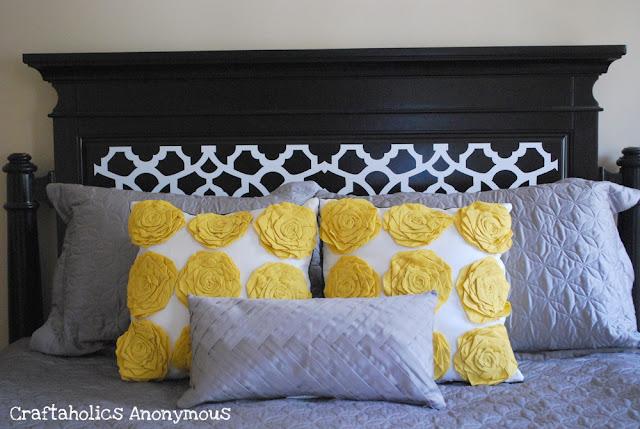 Target yellow pillows