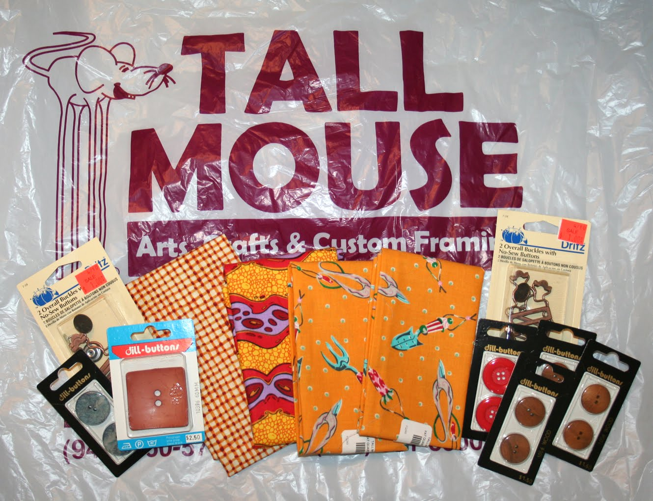 tall mouse  craft store coupons